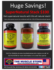 Supernatural Stack: 1 Hi-Test, 1 NOSHIT & 1 Russian Anabolic
