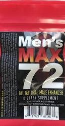 Men's Max 72 - Single Ct