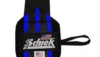 """Schiek 18"""" Blue Line Wrist Wrap"""