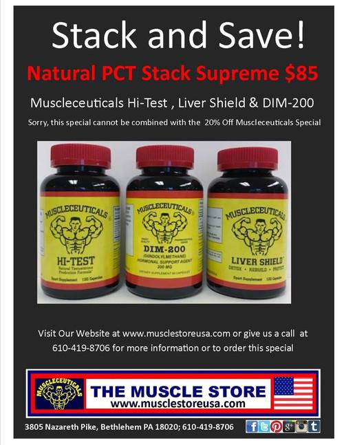 Supreme Natural Stack: Hi-Test, DIM & Liver Shield