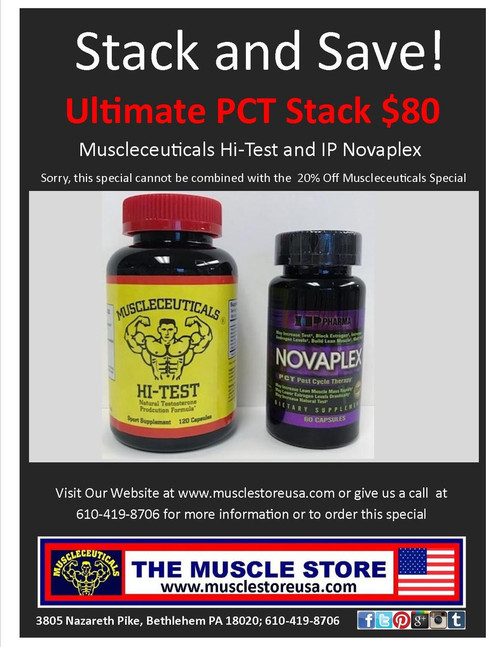 Ultimate PCT Stack: Hi-Test and Novaplex
