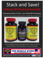 Ultimate PCT Stack Supreme: Hi-Test, Novaplex & Liver Shield