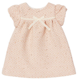 Mini Pink Summer Tweed dress