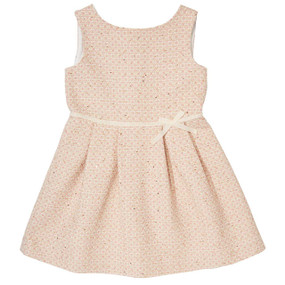 Pink Summer Tweed Dress