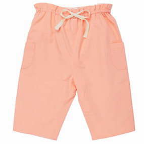 Poplin Pull on Trouser - Peach