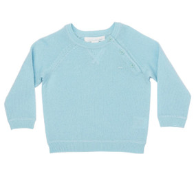 Mini Cashmere Sweater - Mint
