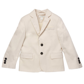Cotton Suit Jacket - Off White