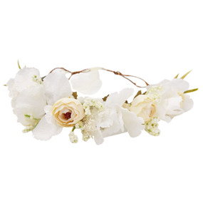 Flower Crown - White