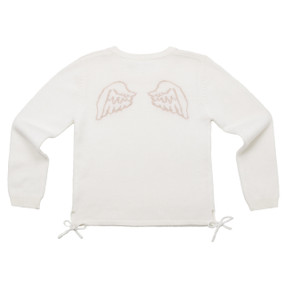 ANGEL WING SWEATER - CREAM