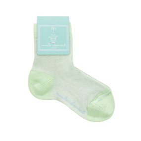 BABY SPARKLE SOCK - LIME