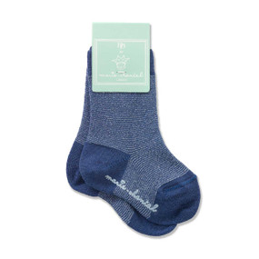 BABY LUREX SOCK - BLUE