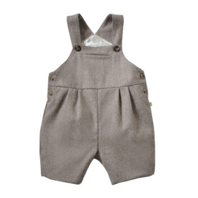 Wool-Cashmere Romper - Chocolate