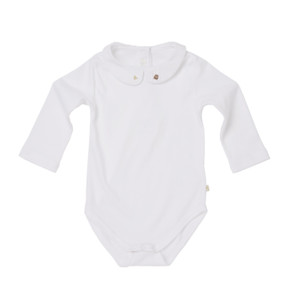 Baby Girl Mouse & Cheese Onsie - White