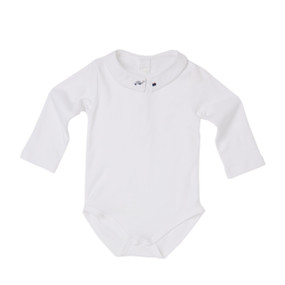 Hand Embroidered Car & Suitcase Onesie - White