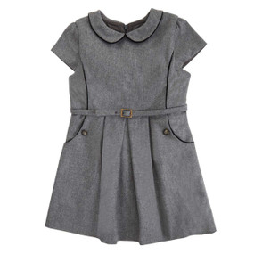 Wool-Cashmere Dress - Dove Grey