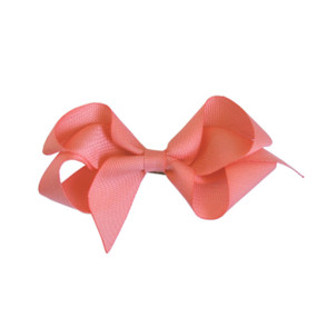Medium Hair Bow - Nora Pink