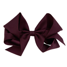 Large Hair Bow - Currant