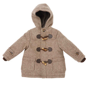 Mini Duffle Coat - Chocolate