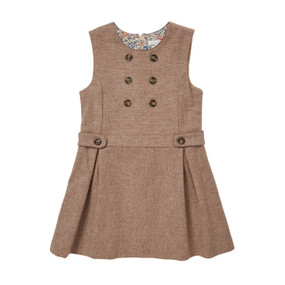 Wool-Cashmere Dress - Chocolate