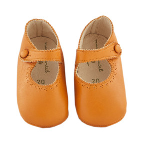 Pram Shoe - Mary Jane - Camel