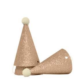 Party Hats (Set of 3) - Gold