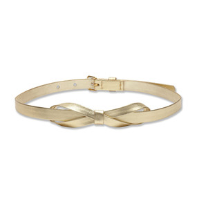 BOW BELT - GOLD
