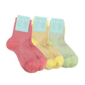 Pack of 3 Child Sparkle Socks