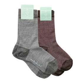 Pack of 2 Child Lurex Socks