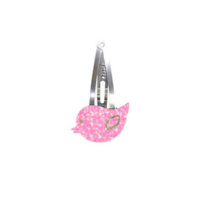 Bird Hairclip - Pink