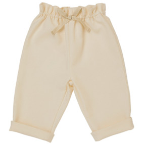 Amelia - Pique Pull on Trouser - Cream