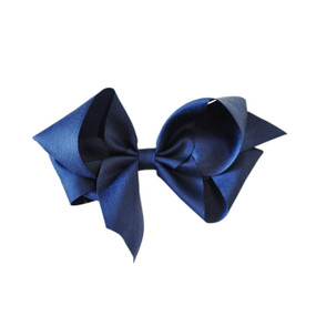 Large Heritage Bow - Dark Blue