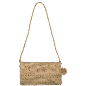 Straw Handbag - Natural