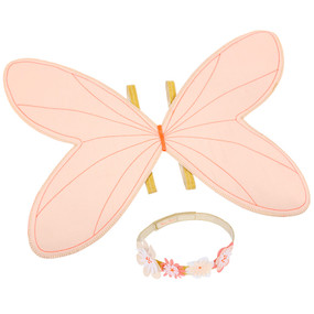 Fairy Wings Dress Up Kit - Pink