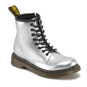 Dr Martens Boots - Silver