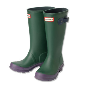 HUNTER WELLINGTON BOOTS - GREEN