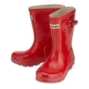HUNTER ORIGINAL WELLINGTON BOOTS - RED
