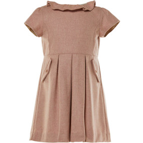 BLITHE - WOOL CASHMERE DRESS - PINK