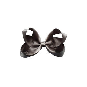 Medium Hair Bow - GREY
