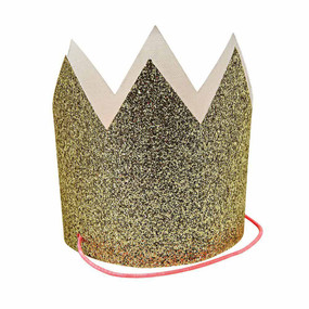 Mini Gold Crown - Pack of 8 - GOLD