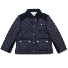 NAVY RIDING JACKET