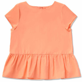 CITRUS PEPLUM TOP