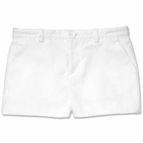 WHITE RESORT SHORT