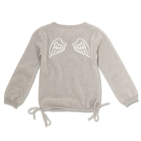 ANGEL WING INTARSIA JUMPER
