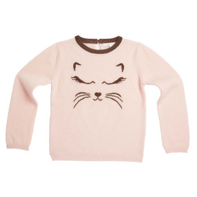 CAT CASHMERE SWEATER