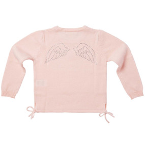 DIAMANTE WING SWEATER