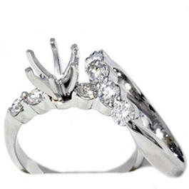 1 1/5ct Diamond Engagement Ring Setting Mount (G/H, I1)