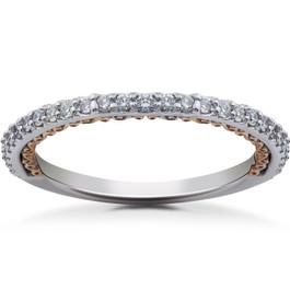 1/4 ct Diamond Wedding Ring (F, VS)