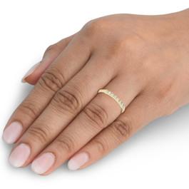 1/5CT Diamond Ring 10K Yellow Gold (H/I, I2-I3)