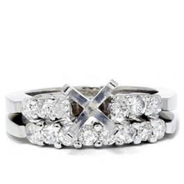 3/4ct Diamond Engagement Matching Ring Setting Semi Mount (G/H, I1)
