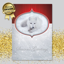 Arctic Fox Christmas Card Maximage Exclusive
